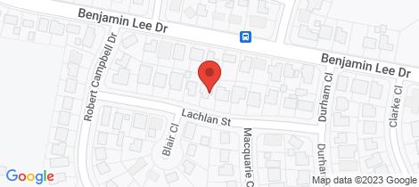 Location map for 2/14 lachlan Street Raymond Terrace