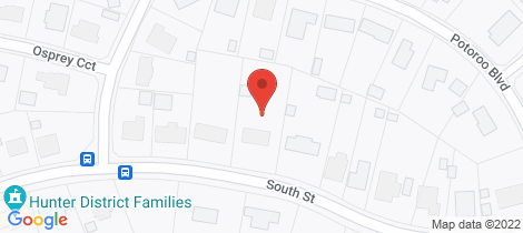 Location map for 29 South Street Medowie