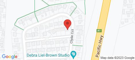 Location map for 2 Ocean Rover Way Raymond Terrace