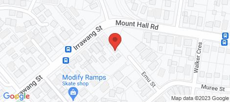 Location map for 17 Emu St Raymond Terrace