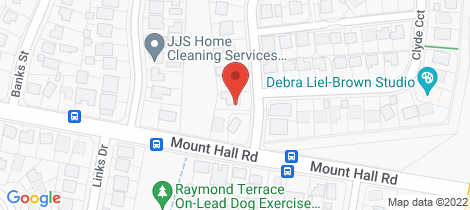 Location map for 3 Clyde Circuit Raymond Terrace
