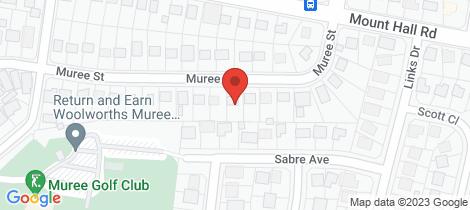 Location map for 15 Muree Street Raymond Terrace
