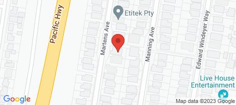 Location map for 23 Martens Avenue Raymond Terrace