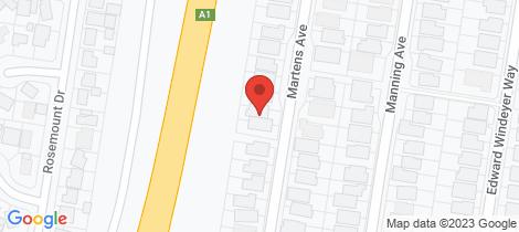 Location map for 34 Martens Avenue Raymond Terrace
