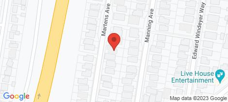 Location map for 27 Martens Avenue Raymond Terrace