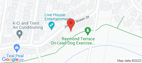 Location map for 50 Joseph Sheen Drive Raymond Terrace