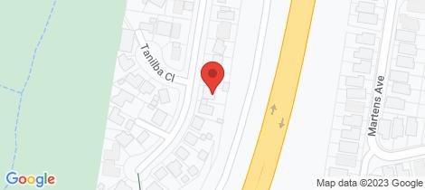 Location map for 51 Rosemount Drive Raymond Terrace