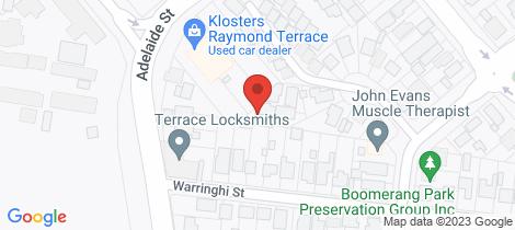 Location map for 13 Osborn Crescent Raymond Terrace