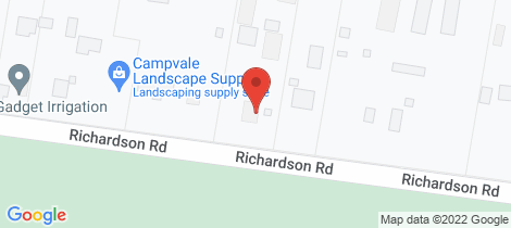 Location map for 933 Richardson Road Campvale