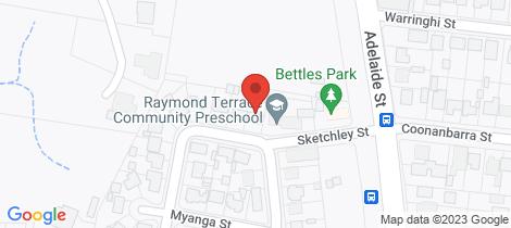 Location map for 27 Murulla Crescent Raymond Terrace