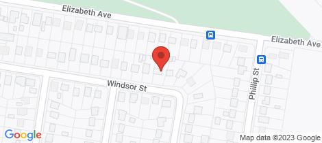 Location map for 24 WINDSOR STREET Raymond Terrace