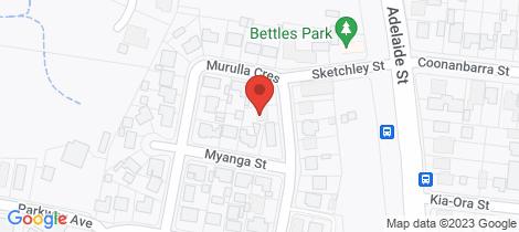 Location map for 12 MURULLA CRESCENT Raymond Terrace