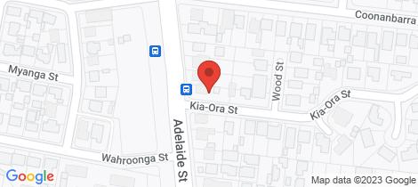 Location map for 221 Adelaide Street Raymond Terrace