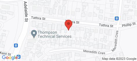 Location map for 19 Tathra Street Raymond Terrace