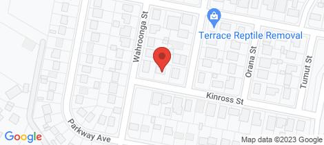 Location map for 6 Kinross Street Raymond Terrace