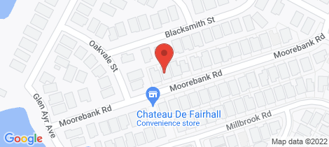 Location map for 28 Moorebank Road Cliftleigh