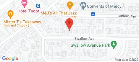 Location map for 16 Swallow Avenue Woodberry