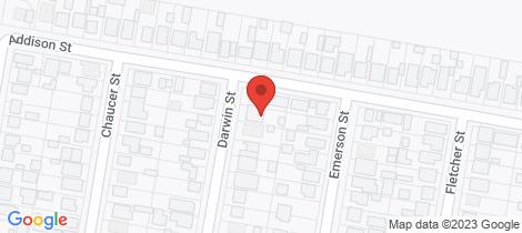 Location map for 4 Darwin Street Beresfield