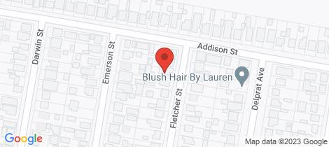 Location map for 5 Fletcher Street Beresfield