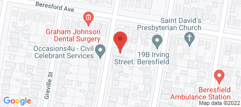 Location map for 22 Hawthorne Street Beresfield