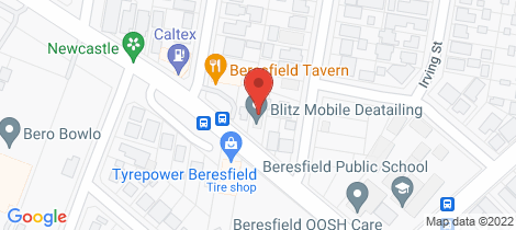Location map for 191 Anderson Drive Beresfield