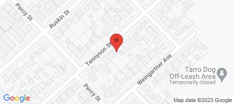 Location map for 50 Tennyson Street Beresfield