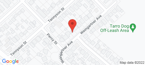 Location map for 43 Weingartner Avenue Tarro