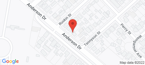 Location map for 163 Anderson Drive Beresfield