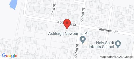 Location map for 7/24 Abermain Street Abermain