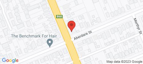 Location map for 61 Mitchell Avenue Kurri Kurri