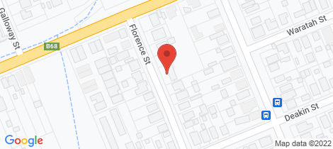 Location map for 9 Florence Street Kurri Kurri