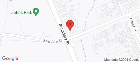 Location map for 39 Boundary Street Kurri Kurri
