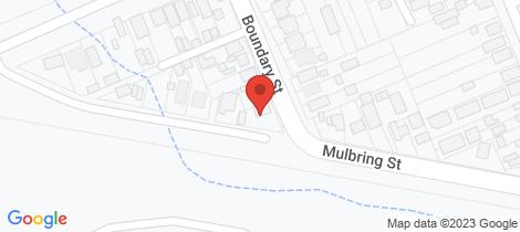 Location map for 2 Boundary Street Kurri Kurri