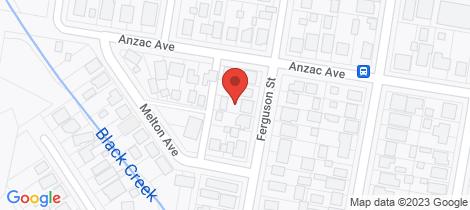 Location map for 44 Ferguson Street Cessnock