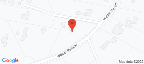 Location map for 4 Walter Parade Black Hill