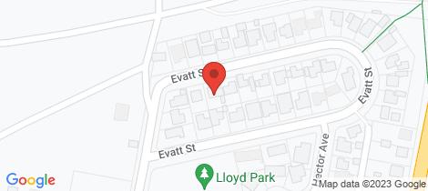 Location map for 6 Evatt Street Pelaw Main
