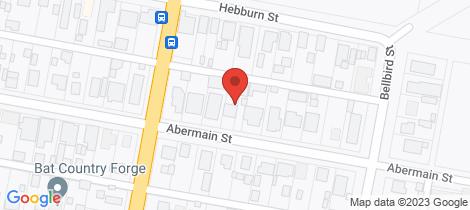 Location map for 33 Abermain Street Pelaw Main
