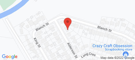 Location map for 26 Alderson Street Shortland