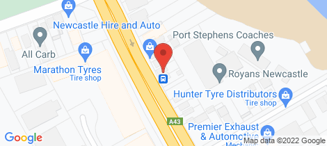 Location map for 79 Maitland Road Sandgate