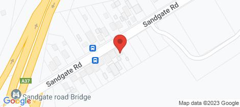 Location map for 455 Sandgate Road Shortland