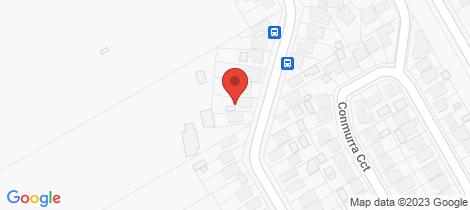Location map for 59 Marsden Street Shortland