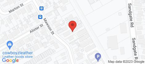 Location map for 5/44 Mawson Street Shortland