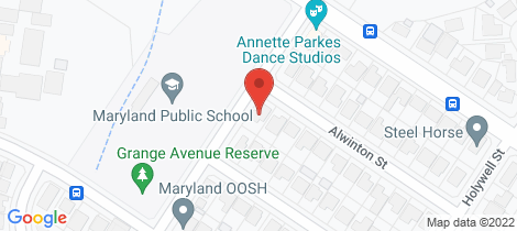 Location map for 24 Alwinton Street Maryland