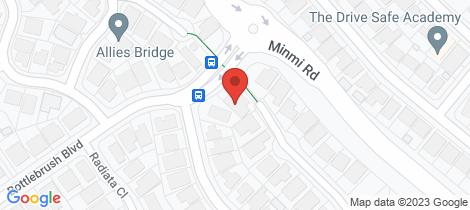 Location map for 2 Redwood Close Fletcher