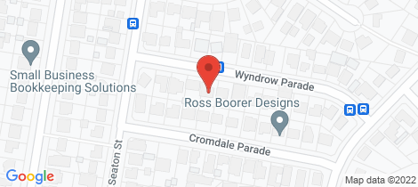 Location map for 20 Wyndrow Parade Maryland