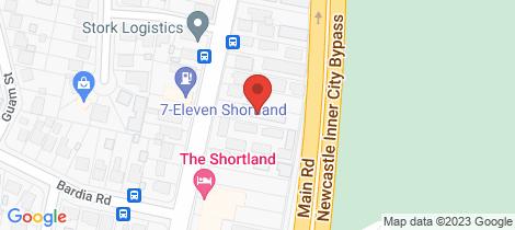 Location map for 3/285 Sandgate Road Shortland