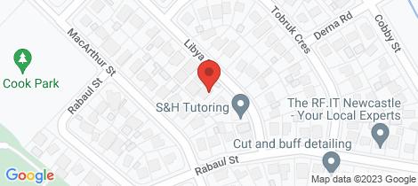 Location map for 7 Libya Street Shortland
