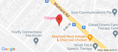 Location map for 1 Frith Street Mayfield