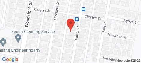 Location map for 54 Barton Street Mayfield