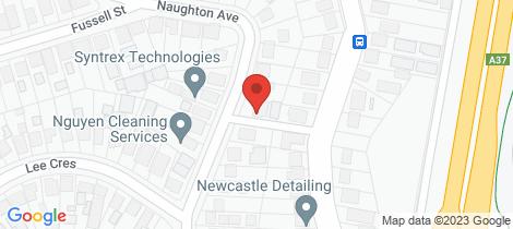 Location map for 30a Naughton Ave Birmingham Gardens